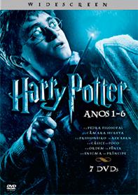 Box Coletânea Coleção Harry Potter 1 a 6 DVDRip XviD MP3 Dual Audio